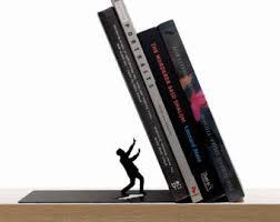 unique book ends unique bookends etsy