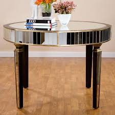 parisian mirrored dining table and mirrored dining room table