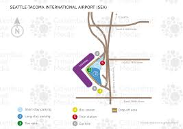 seattle airport terminal map seattle tacoma international airport sea airports worldwide