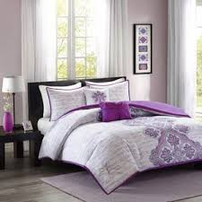 damask purple bedding sets you u0027ll love wayfair