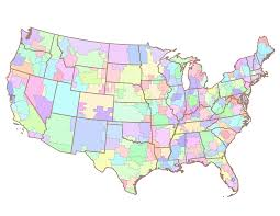 At T United States Coverage Map by List Of United States Television Markets Wikipedia