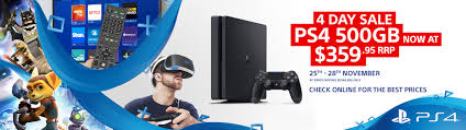 ps4 on black friday price psn black friday sale and ps4 slim 4 day price drop revealed