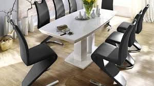 Dining Tables And 6 Chairs Sale Genisimo Extendable Dining Table Gloss 140cm 6 Chairs Youtube