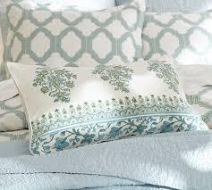 Pottery Barn Lumbar Pillow Covers Emma Lumbar Pillow Cover Pottery Barn