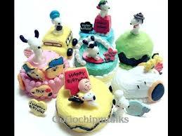re ment peanuts charlie snoopy birthday cake 史諾比 生日蛋糕 youtube