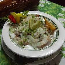 cuisine espadon recette espadon cru au lait de coco cuisine madame figaro
