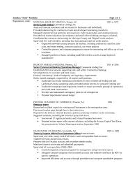 Resume Sample Template by Chronological Loan Officer Resume Example Template Page 2