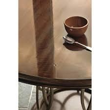 coffee table sabrina modern classic round metal pedestal dining