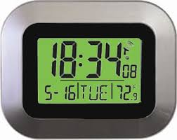 Digital Atomic Desk Clock Mfj Enterprises Inc