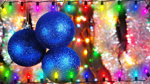 flickering lights on ornament background