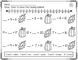 addition u0026 subtraction worksheets add subtract color to 20