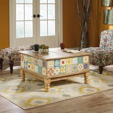 sauder coffee and end tables viabella lift top coffee table 420124 sauder