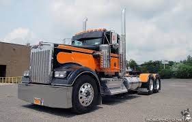 kenworth trucks the orange kenworth robophoto