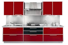 Red Modern Furniture by 15 Extremely Red Kitchen Cabinets Home Design Lover