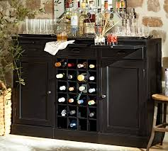Buffet Bar Cabinet Modular Bar Buffet With 2 Cabinet Bases 1 Wine Grid Base