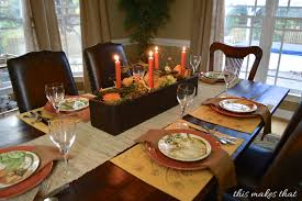 dining room table settings new thanksgiving table setting ideas