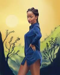beautiful cartoon women art black women cartoons image group 73