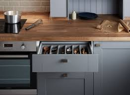 The Kitchen Collection Stylish Yet Practical Detail Right Down To The Cutlery Tray In The
