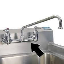 wall mounted kitchen sink faucets sink faucet design brass wall commercial kitchen sink faucet