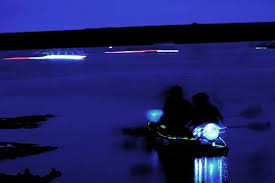 kayak lights for night paddling your week in ocean why was big lagoon all neoned out last friday