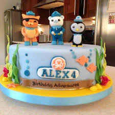 octonauts birthday cake the great bake