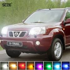 trail of lights parking for nissan x trail t30 x trail t31 scoe 2x 12smd led front parking