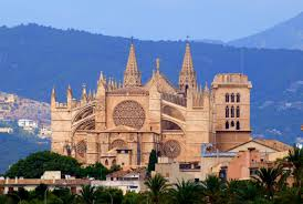 Mallorca Spain Map by The Cathedral Of Palma De Mallorca La Seu Palma De Mallorca