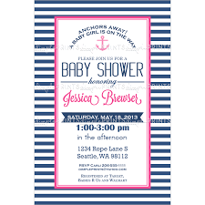 nautical baby shower invitations girl nautical baby shower invitation digital printable dimple