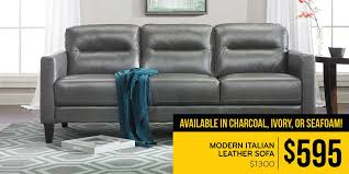 Leather Sofas On Finance The Dump America U0027s Furniture Outlet