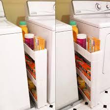 Bathroom Laundry Storage Evelots Slim Slide Out Storage Tower Unit For Laundry Bathroom