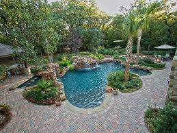 Desert Landscape Ideas For Backyards Modern Pool Landscape Design Ideas Download Pool Landscaping