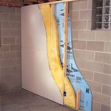 Easy Basement Wall Ideas Ideas Insulating Basement Wall How To Finish A Foundation Of