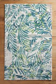 Anthropologie Kitchen Rug Wild Palm Rug Anthropologie