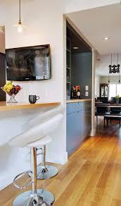 kitchen island pass through modern kitchen toronto by