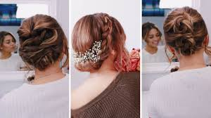easy up hairstyles for medium length hair 3 easy updos for short medium length hair ashley bloomfield