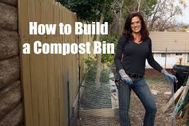 how to build a compost bin quick simple and inexpensive youtube