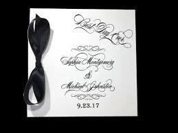 black wedding programs story signature wedding program citrine designs
