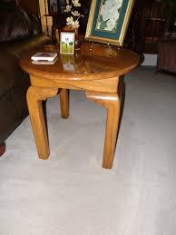 round oak end table antique oak end tables ideas