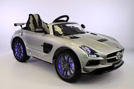 amazon com mercedes benz sls amg 12v kids ride on car mp3 mp4