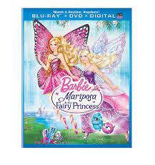 amazon barbie mariposa u0026 fairy princess blu ray kelly