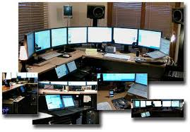 Computer Technician Desk 13 Eye Popping Home Office Setups Pcmag Com