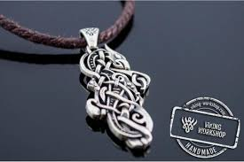 silver wolf pendant necklace images Wolf pendant sterling silver unique jewelry viking workshop jpg