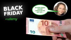 udemy black friday jeder meiner online kurse um nur 10 u20ac u2013 black friday auf udemy