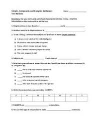 compound subject and predicate lesson plans u0026 worksheets