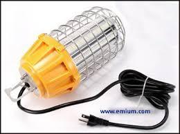 temporary job site lighting emium lighting delivers led temporary high bay lighting to the job
