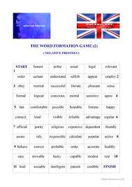 13 free esl negative prefixes worksheets