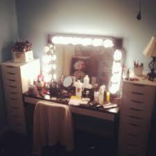 broadway lighted vanity makeup desk broadway style vanity mirror c milli com