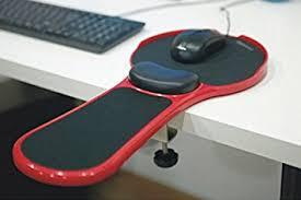 Black Desk And Chair Amazon Com Premium Adjustable Computer Wrist Rest Armrest Desk