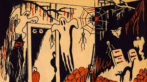 vintage halloween illustration an image a day helps keep the insanity at bay page 7 halloween