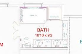 Master Bathroom Dimensions Design Bathroom Floor Plan Home Design Ideas Unique Master